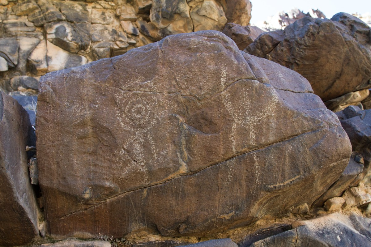 Old Dad Mountain Petroglyphs