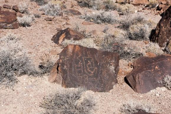 Cane Man Petroglyphs