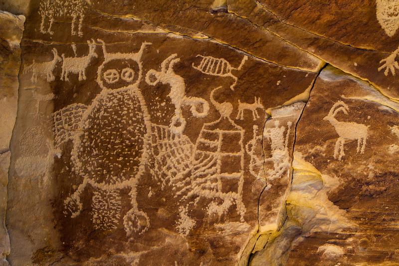 Owl Panel, Nine Mile Canyon
