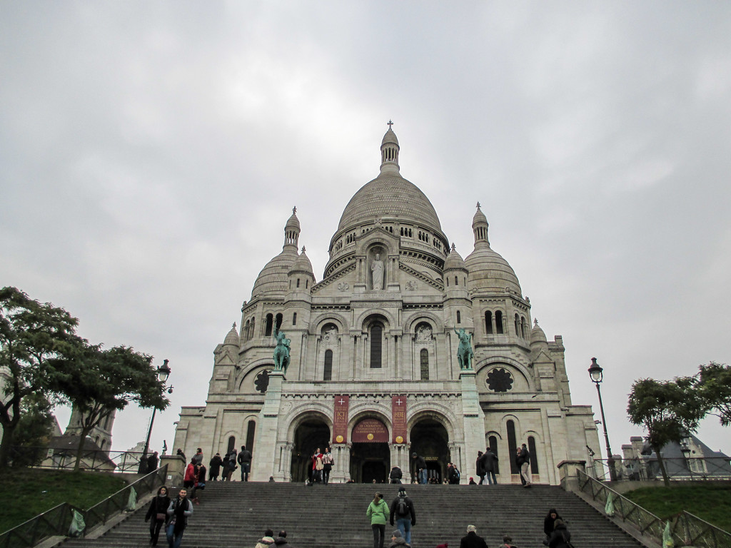 travel to Paris in November and see Sacre Coeur