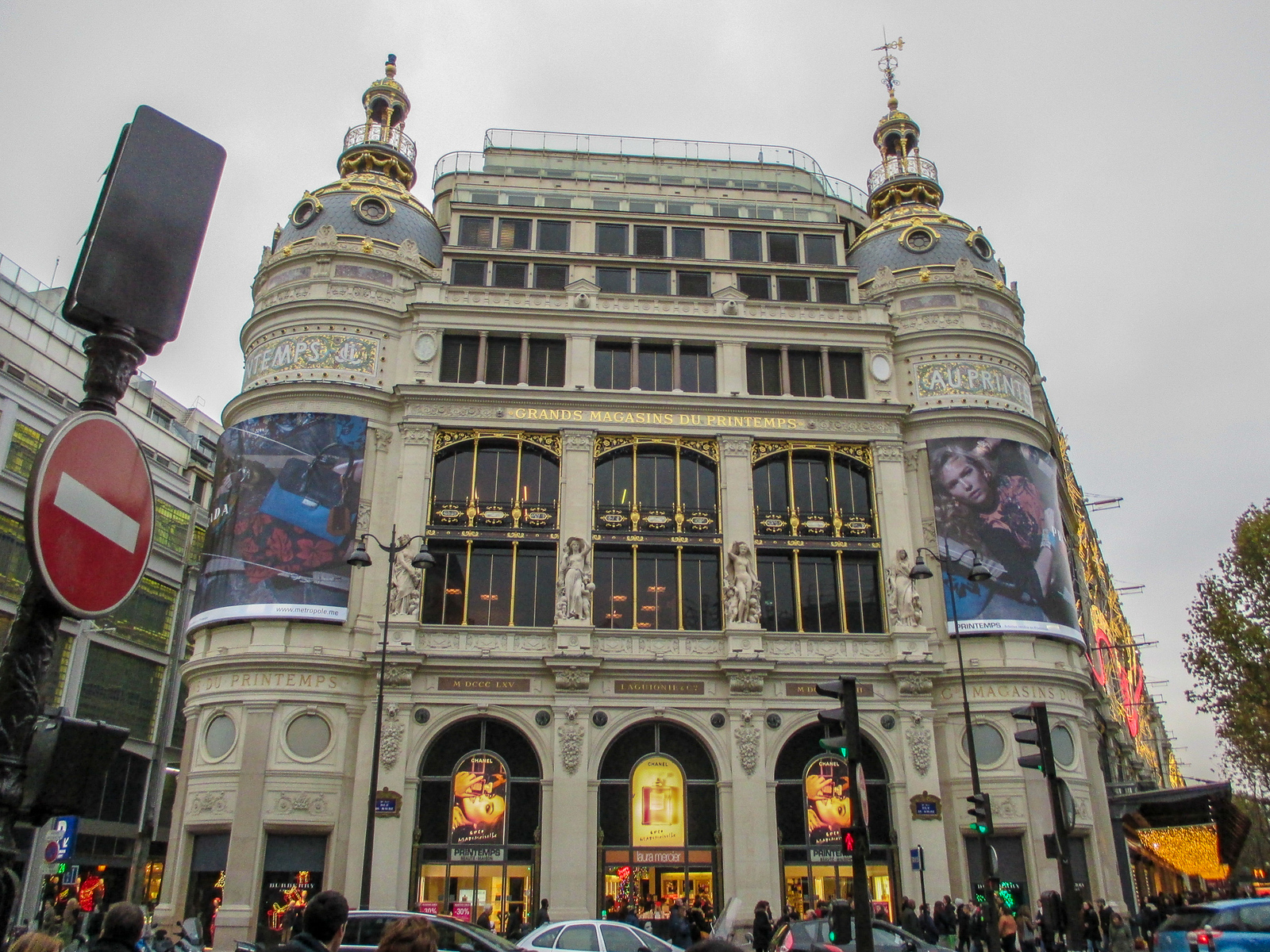 in your paris in 2 days itinerary you need to include some great department stores