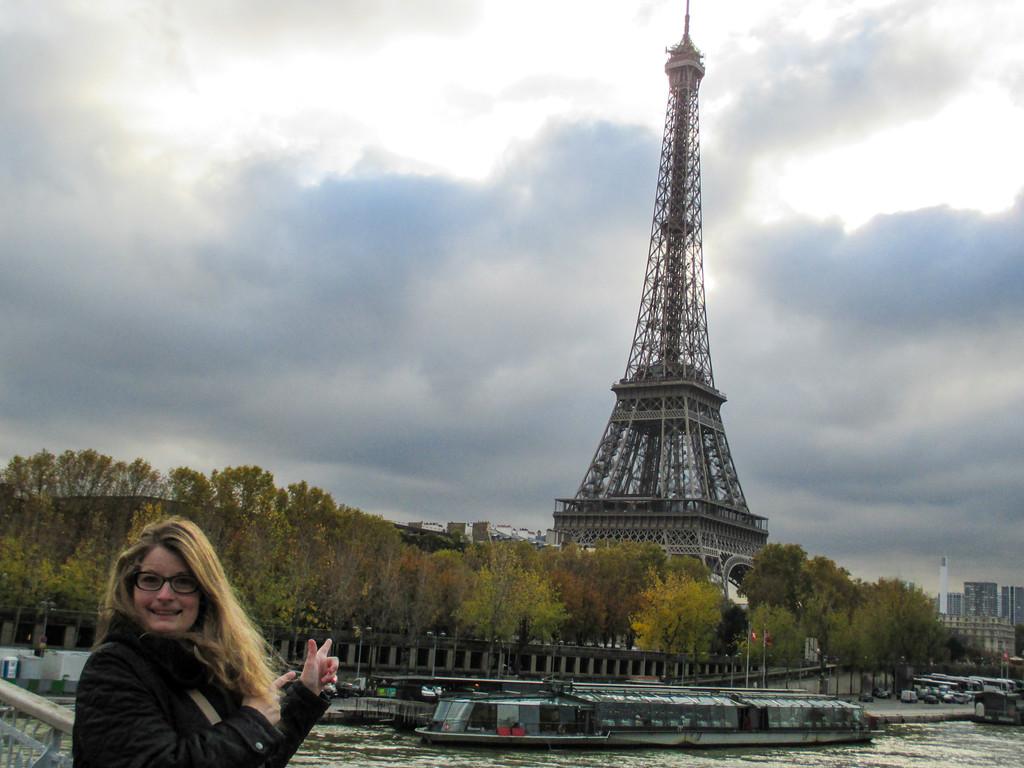 Visit Paris in November and smile!