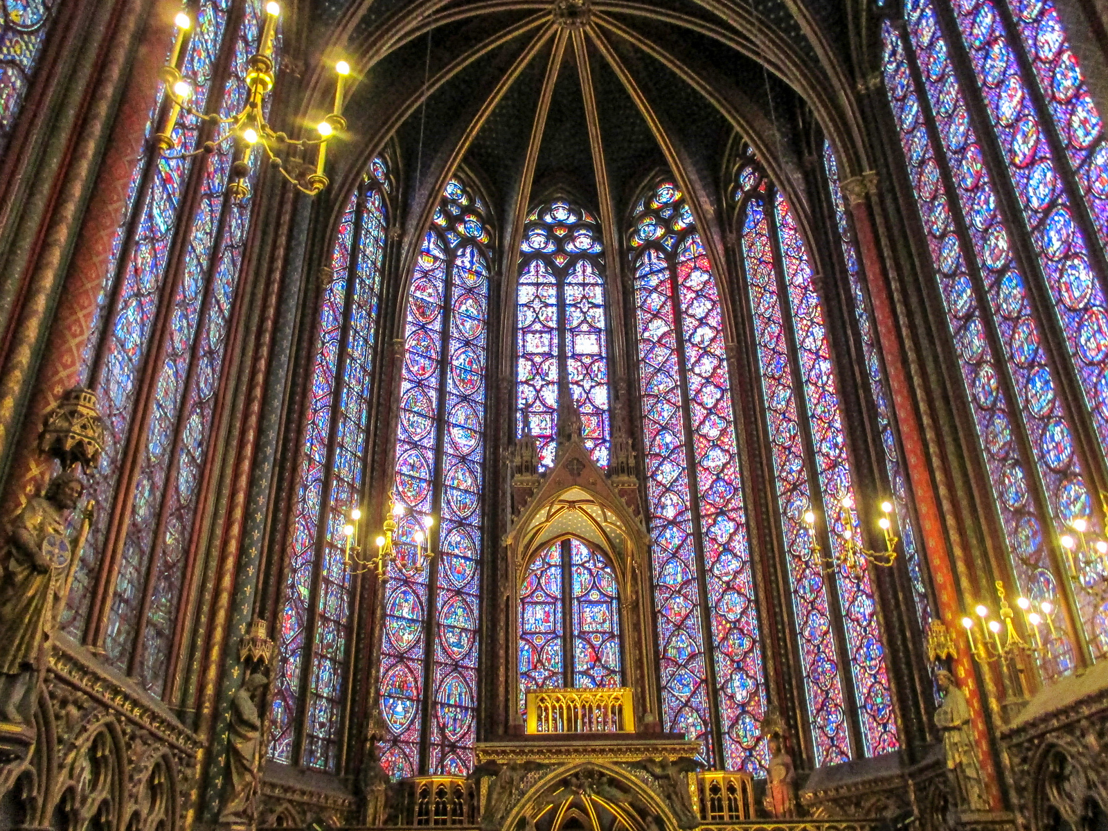 what to do 2 days in paris? see saint chapelle