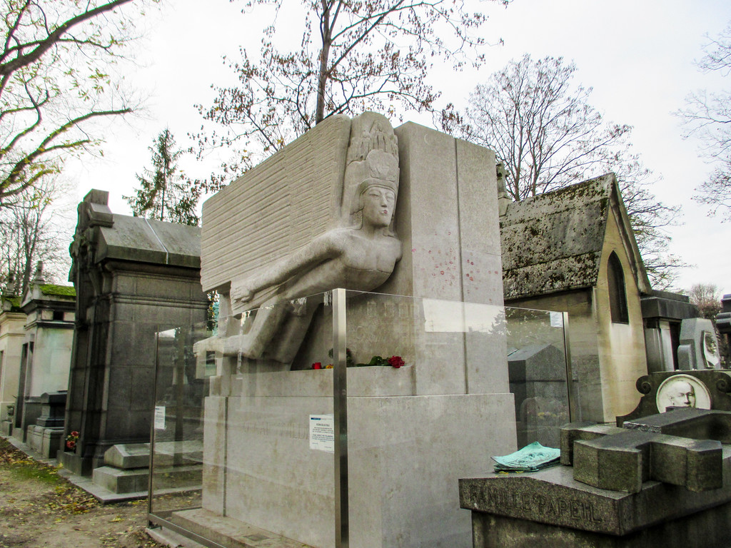 Visiting Paris in November means fewer crowds at Père Lachaise Cemetery