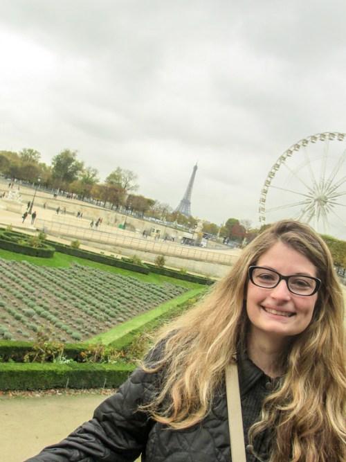 A gray looming sky in Paris, Paris is November