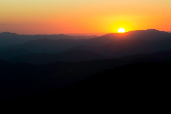 Sunset - Clingman's Dome