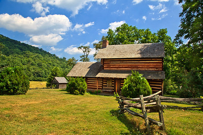 Zebulon B. Vance Birthplace in Weaverville, NC