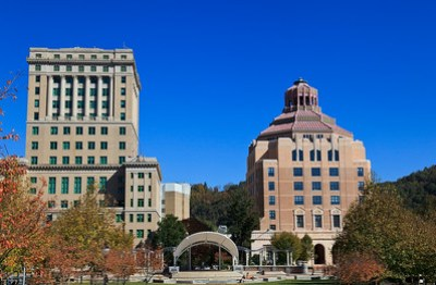 Buncombe County Courthouse and Asheville City Hall