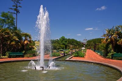 Water Fountain at Daniel Stowe
