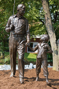 Andy and Opie Statues
