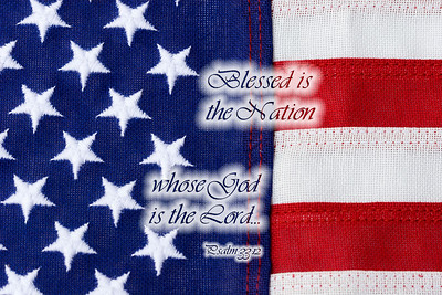 Blessed is the nation whose God is the Lord. Psalm 33:12