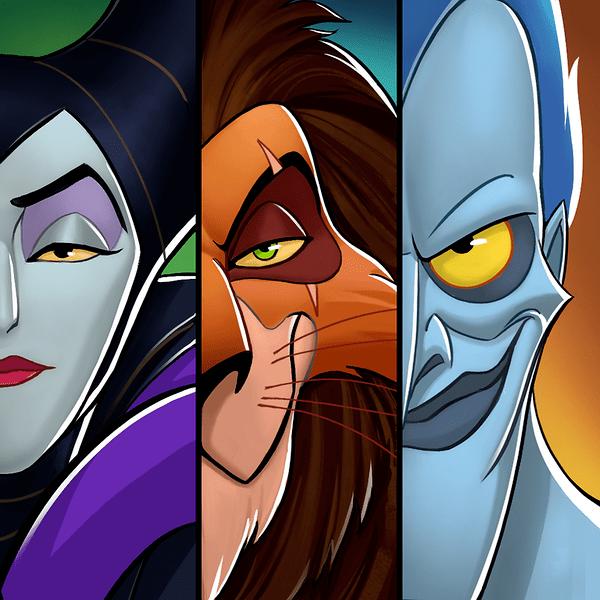 'Disney Heroes: Battle Mode' Villain Event App Icon