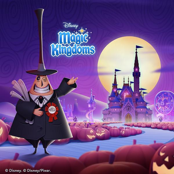 'Disney Magic Kingdoms' - The Nightmare Before Christmas Halloween Asset