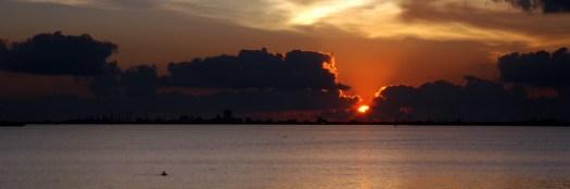 Sunrise Over Galveston