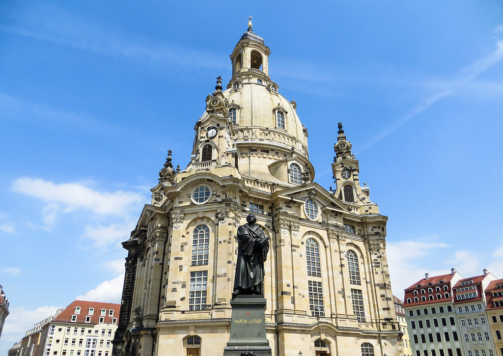 Visiting Dresden in Germany promises many beautiful sights.