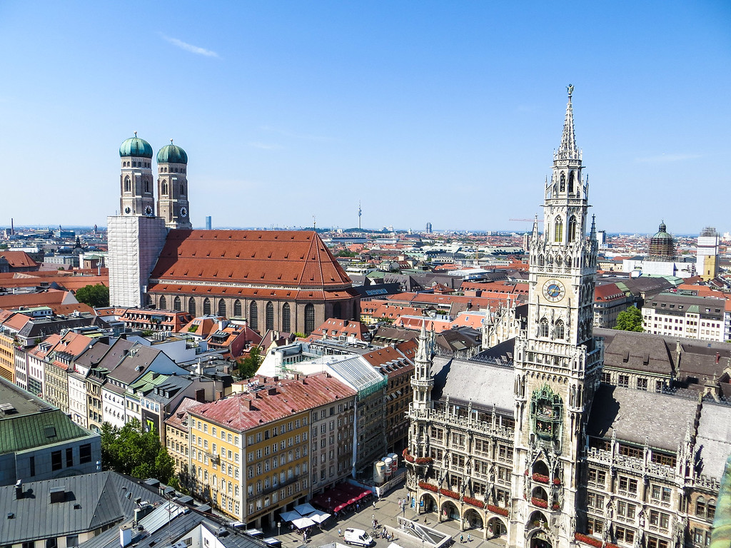 munich is a one of the best places to travel alone in europe