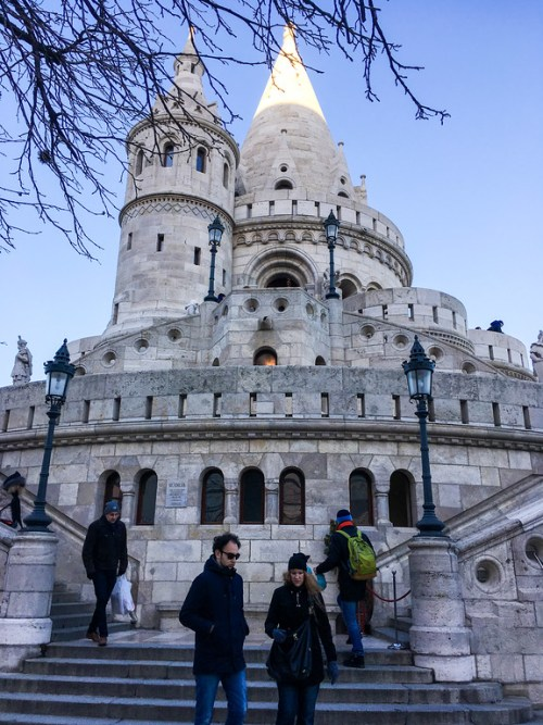 Fisherman's Bastion is one of many things to do in Budapest alone