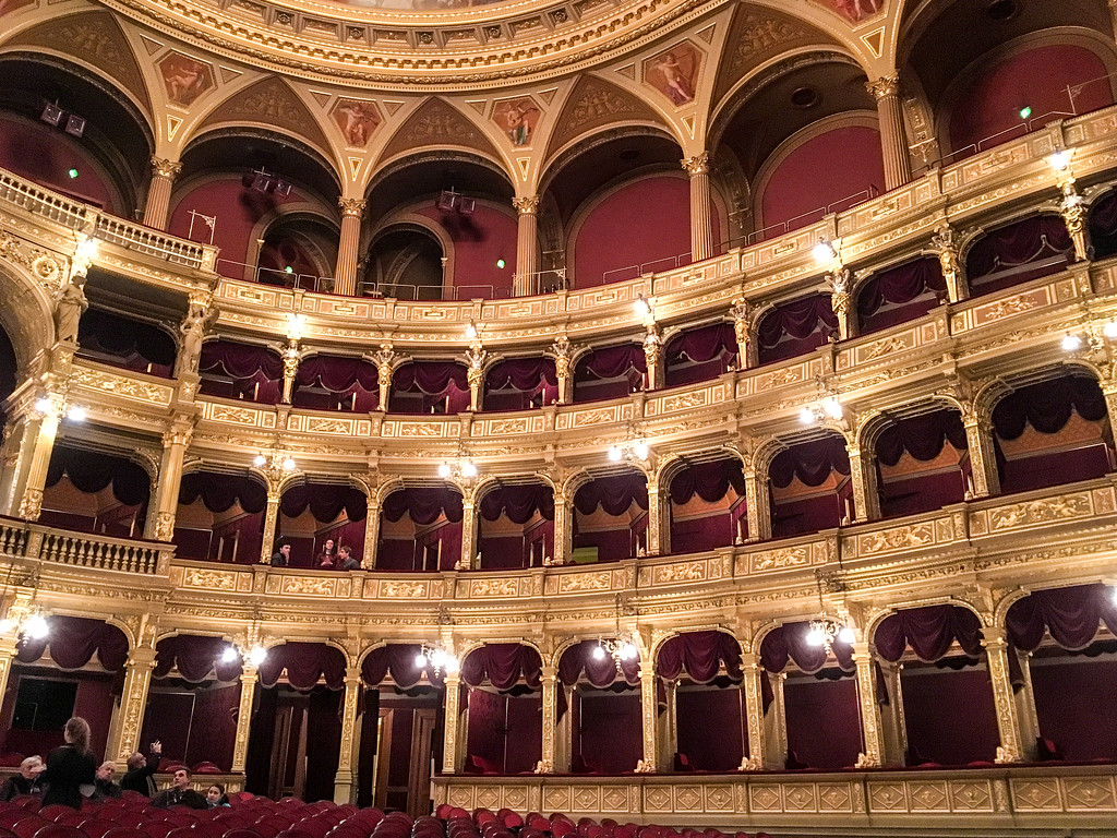 the best time to visit budapest is winter if you want to see an opera