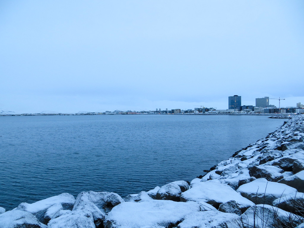 winter in iceland