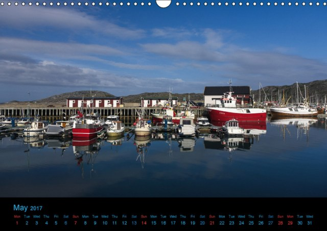 Bodø Harbor - Calendar Photo of the Month May 2017