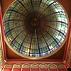 Glass in the Queen Victoria Building dome - this is much nicer than American malls!