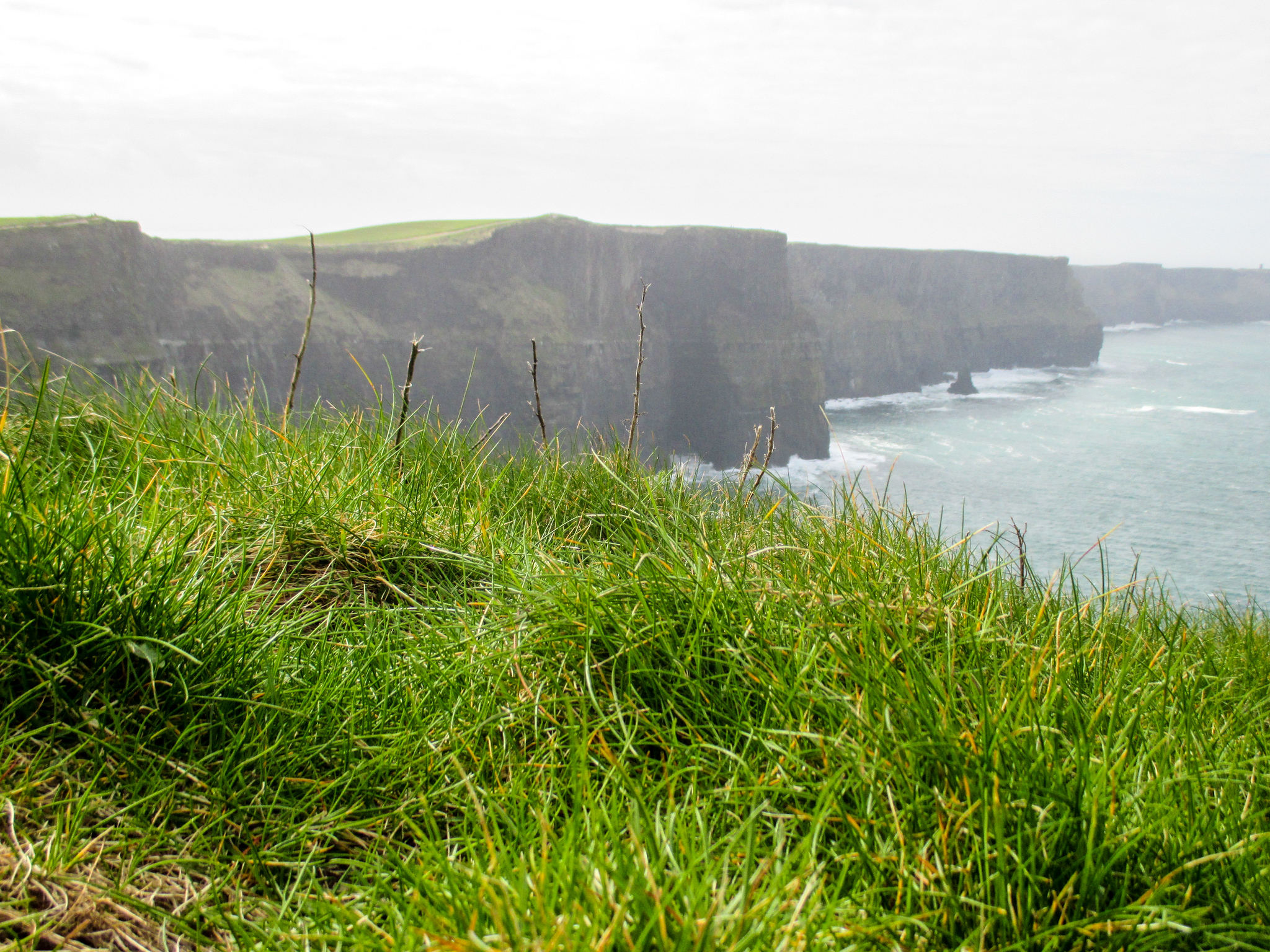 your one Week in Ireland Itinerary includes the sweeping cliffs of moher