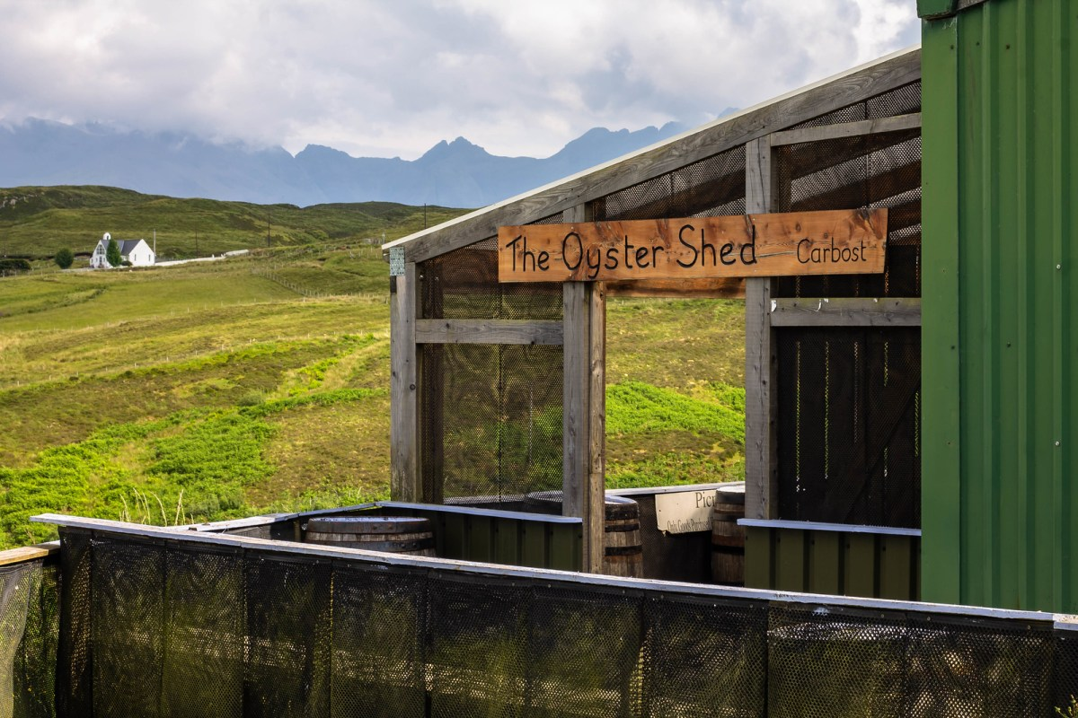 Things to do in Skye - East Fresh Oysters at Oyster Shed
