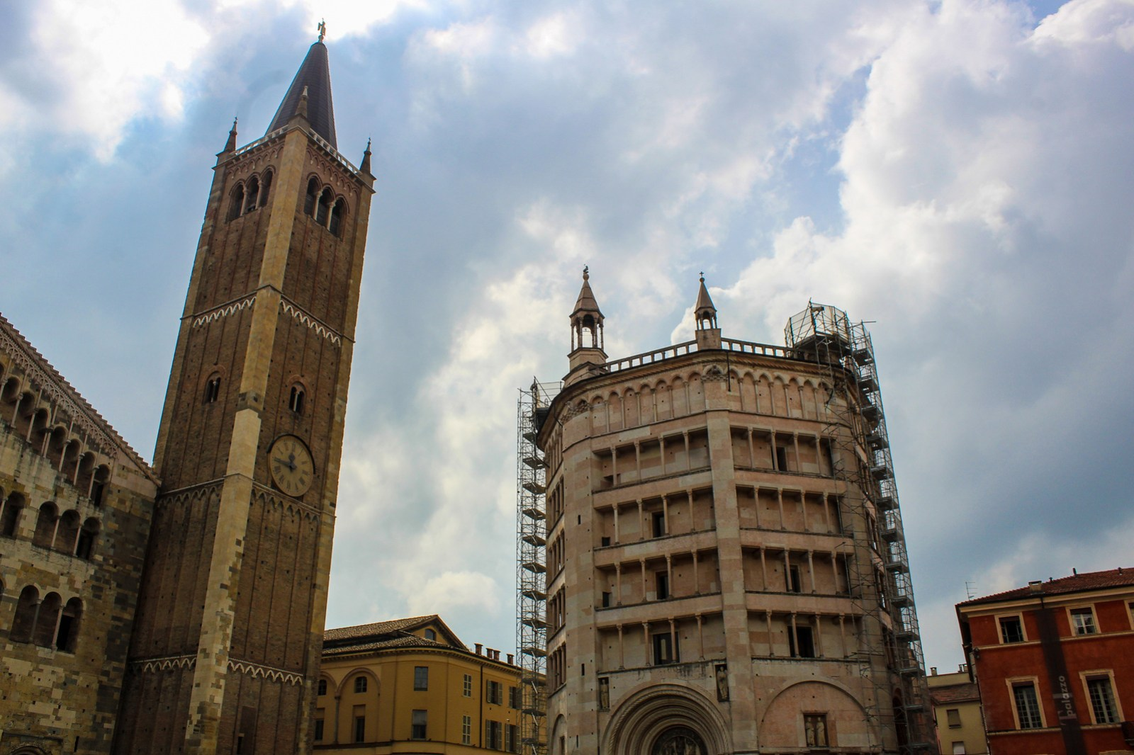 the baptistery and cathedral are among the best things to do in parma
