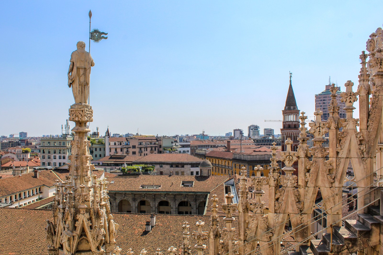 is milan worth visiting? for this view? absolutely!