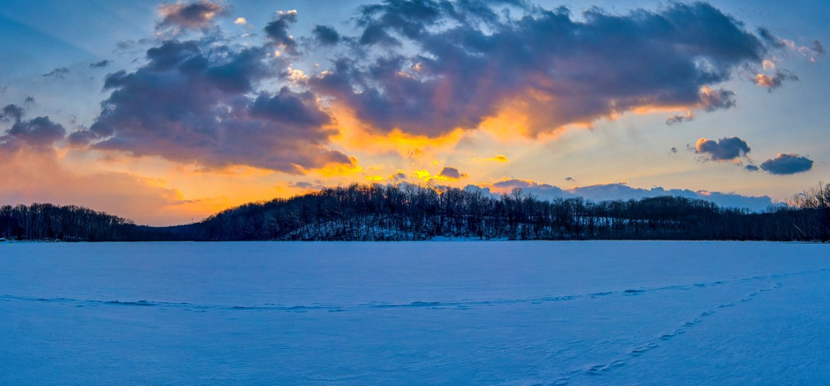 Silver Lake Sunset – 2-20-2021