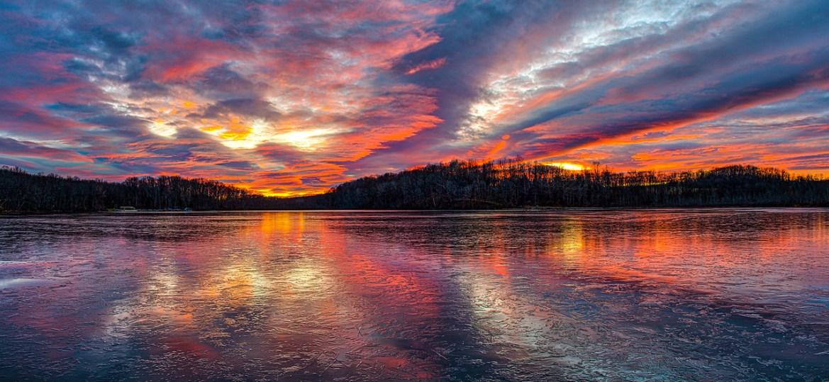 Silver Lake Sunset 1-9-2021