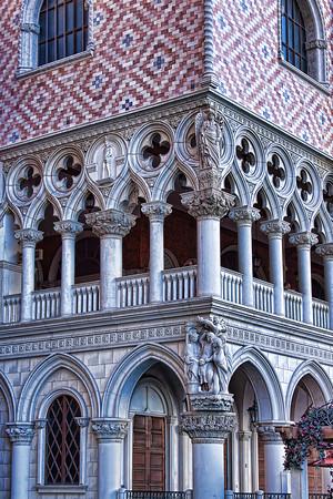 Venetian Palazzo Ducale, Las Vegas - Architecture detail