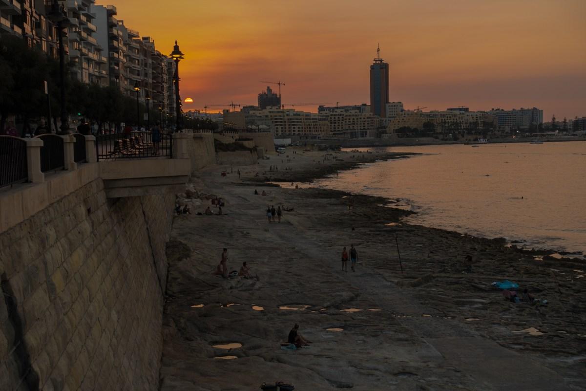 Malta Pictures - Sunset in Malta
