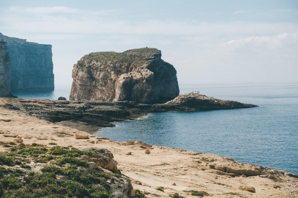Things to do in Malta - Dwejra Bay - Fungus Rock