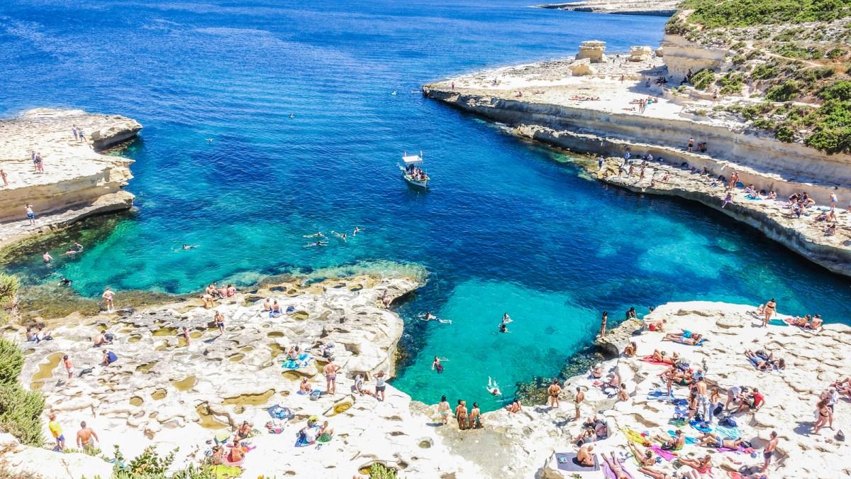 St Peter's pool - Malta