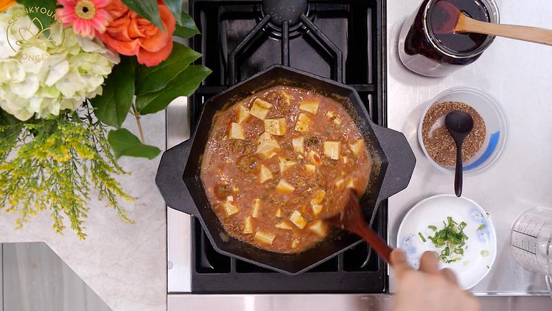 Low-fat Mapo Tofu Recipe