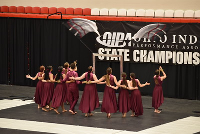 2018 Ohio Indoor Performance Association Championships - Color Guard