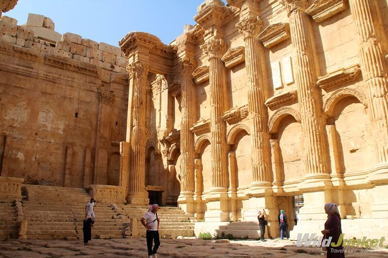 недельный маршрут по Ливану - баальбек