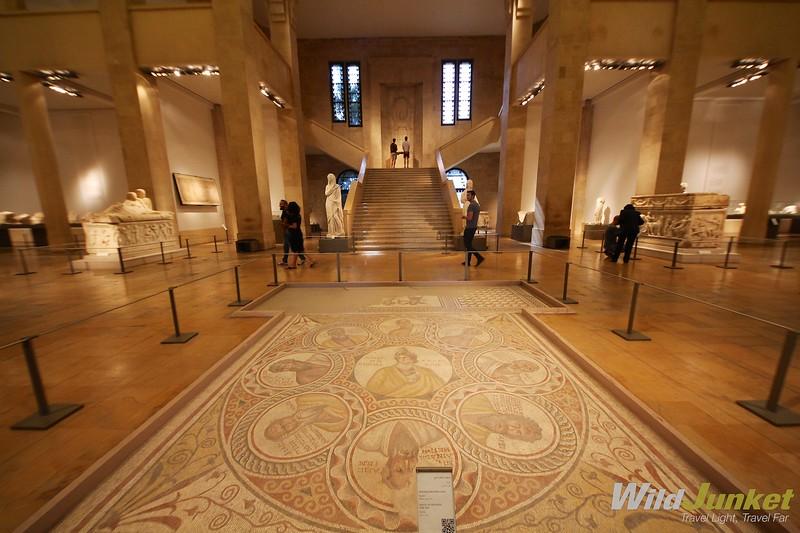 недельный маршрут по Ливану - Национальный музей Бейрута