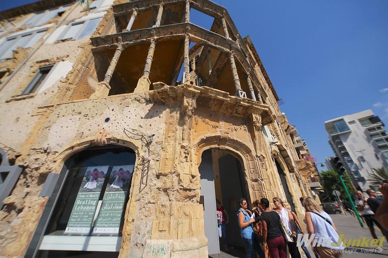недельный маршрут по Ливану - Бейт Бейрут Ливан Ливан IMG 1388 L
