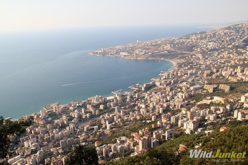 однонедельный маршрут по ливану - харисса