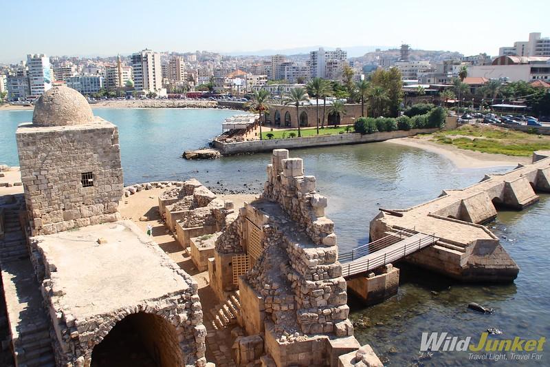недельный маршрут по Ливану - Сидон
