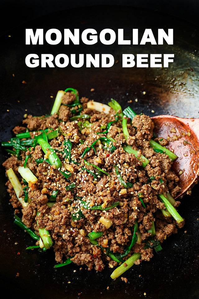 Mongolian Ground Beef Recipe Video Seonkyoung Longest