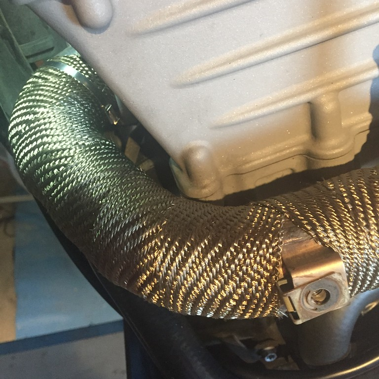 ceramic exhaust coating for header y