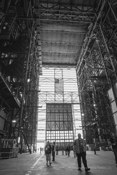 Inside the VAB.