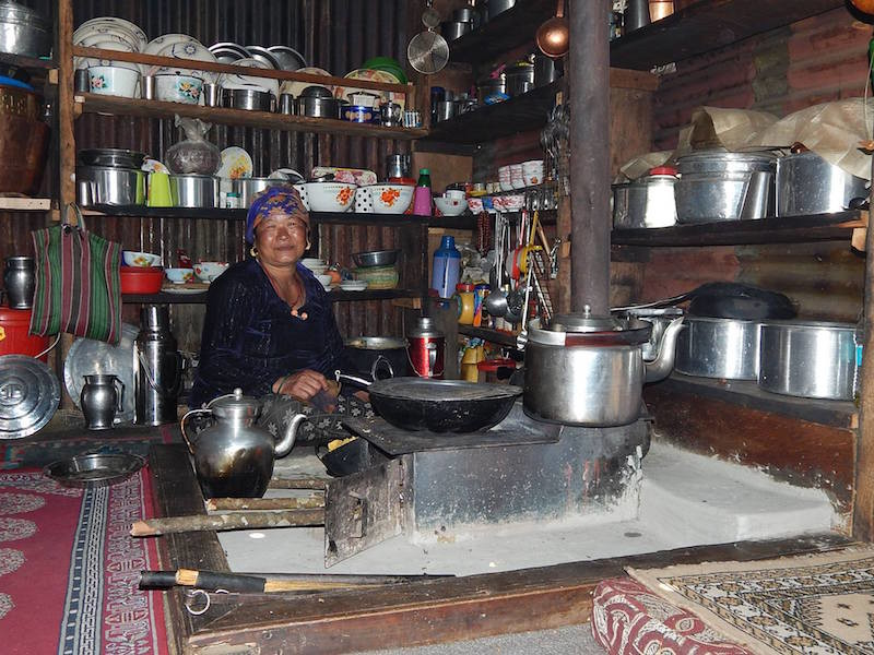 woman in a mountain village talks about life after the Nepal earthquake