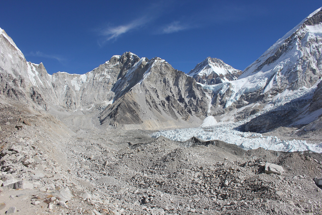 View of Everest Base Camp