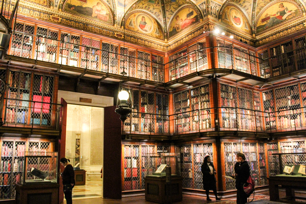 visit the morgan library and museum