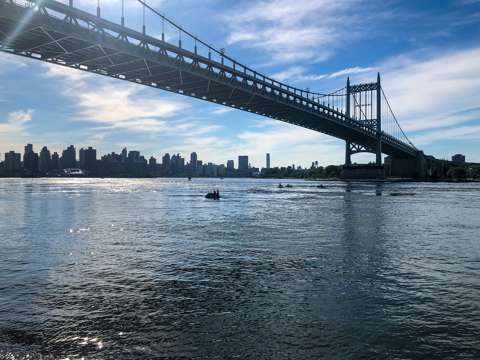 not sure what to do in astoria nyc? walk across the rfk bridge to randell island
