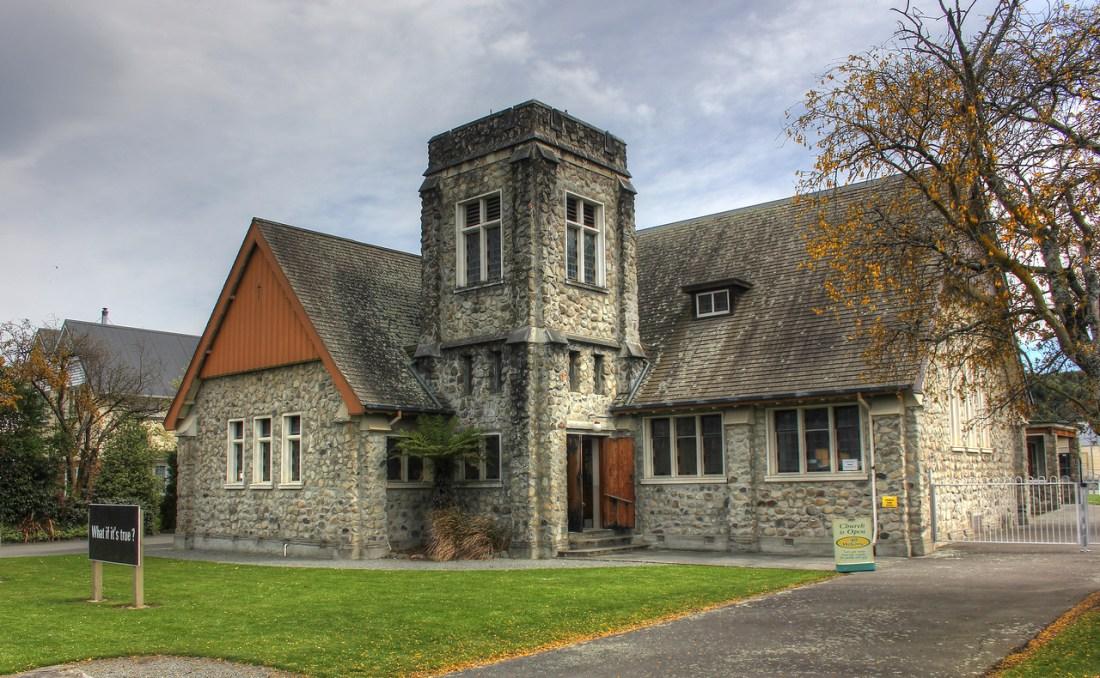 Church in Geraldine, New Zealand